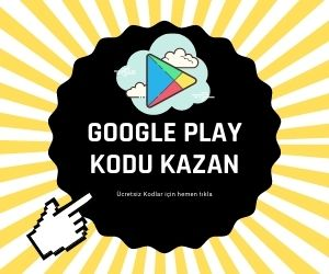 Bedava Google Play Kod 2021